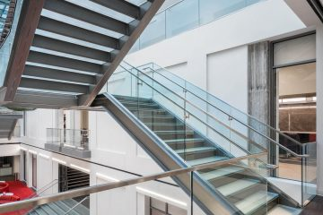 Glass Staircases - University of Utah