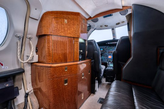 Jet Aircraft Interior Photography Galley Photography